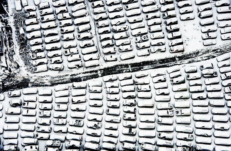 Нидерланды под снегом