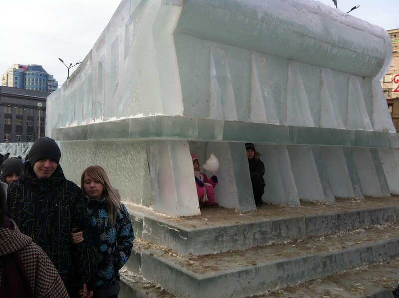 Сказка про ледяную избушку