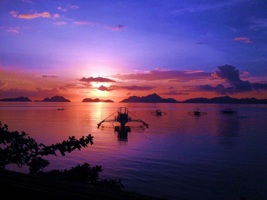 """Фото """"Сиреневый закат"""", награжденное Звездой Вдохновения"""