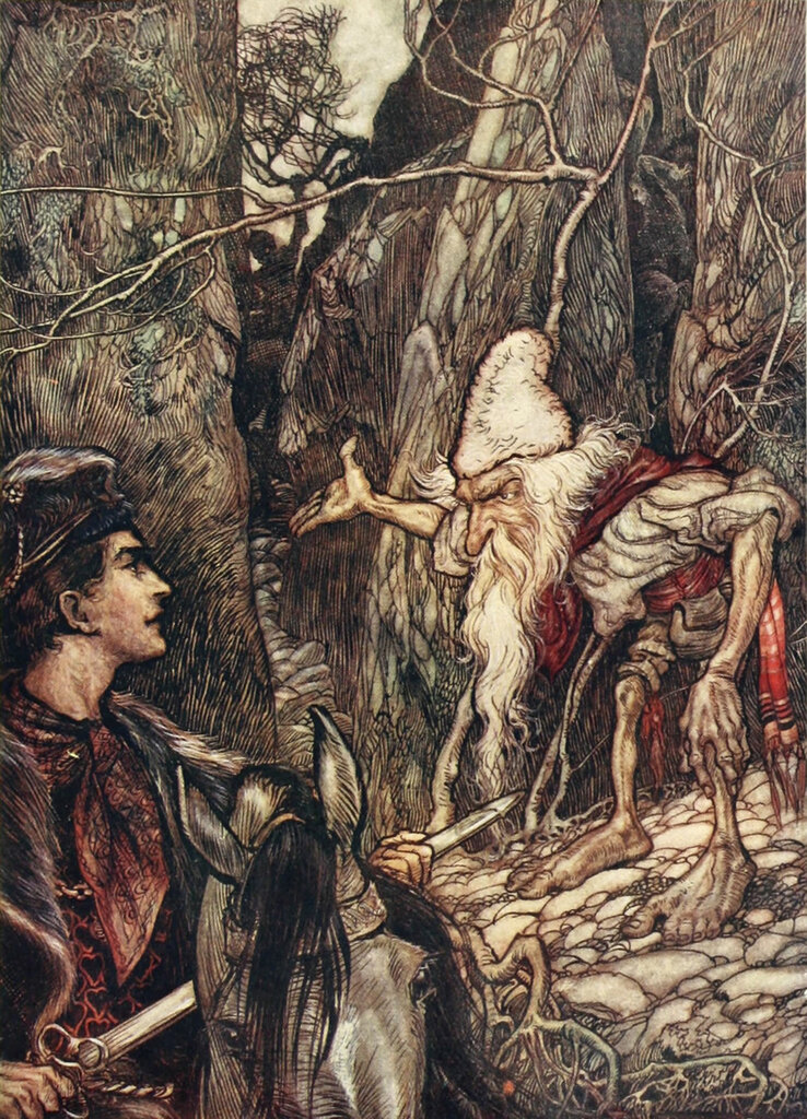 Arthur Rackham. Grimm's Fairy Tales