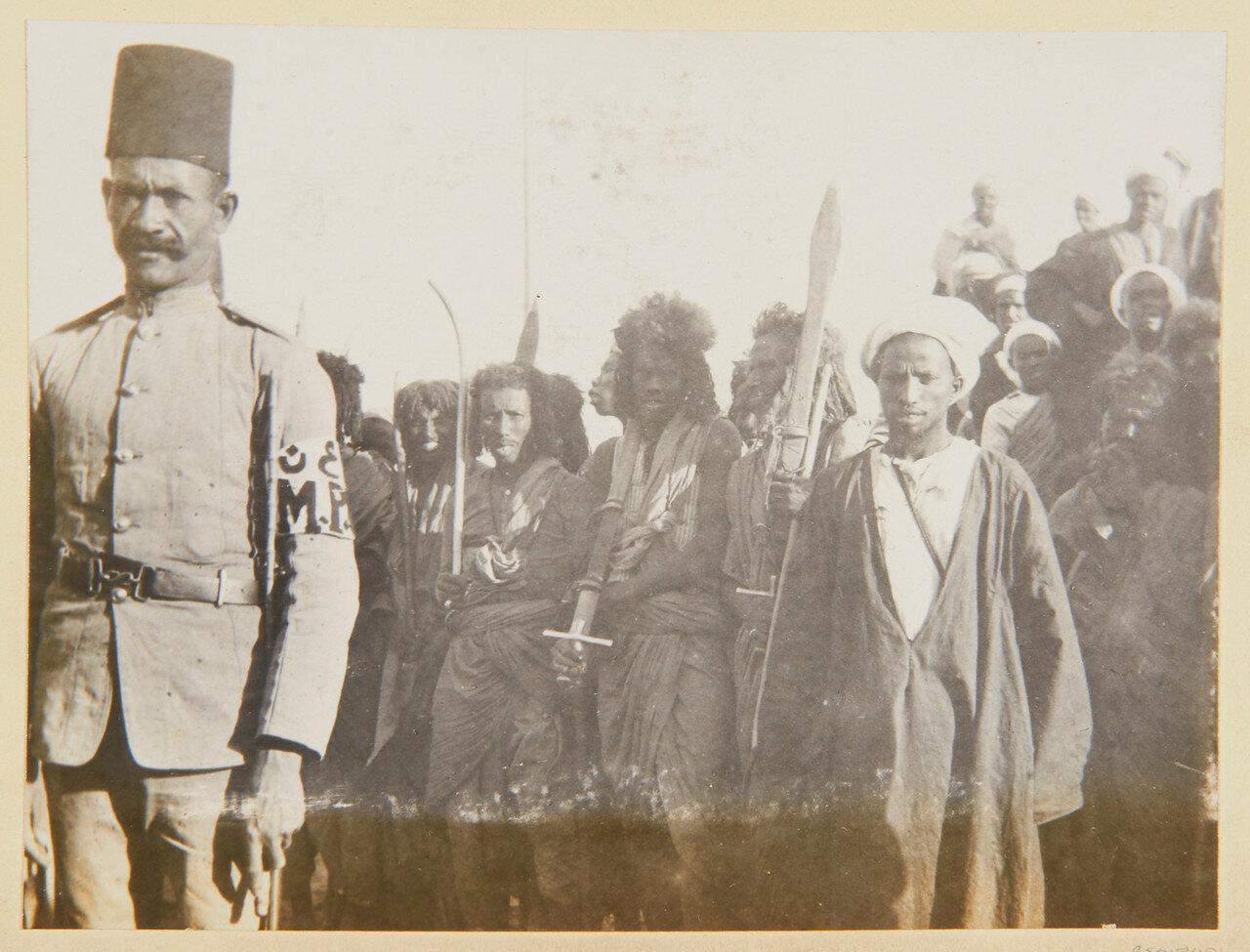 Апрель 1898. Берберский отряд