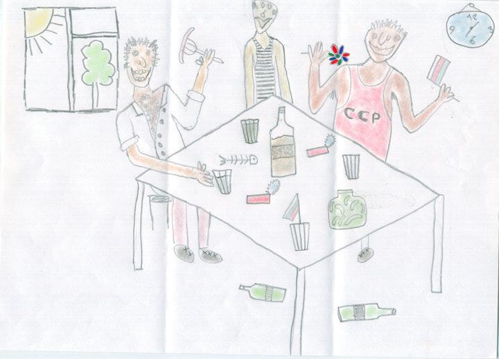 дети рисунок война