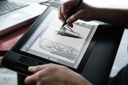 Wacom Cintiq 12WX - графический планшет и ЖК-монитор в одном флаконе