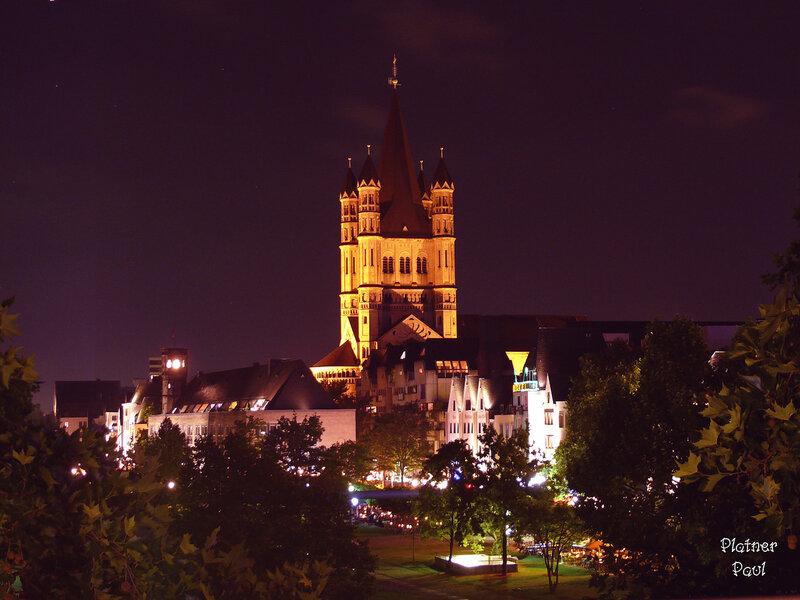 Романская Церковь в Кёльне