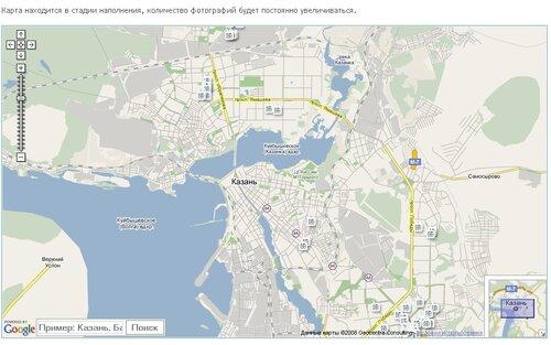 Карта Казани: улицы, дома и