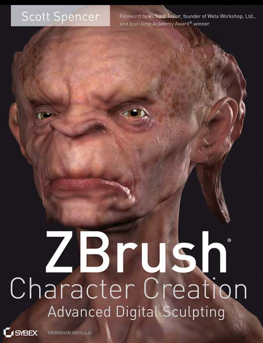 Spencer S. - ZBrush Character Creation. Advanced Digital Sculpting [2008, PDF, ENG]