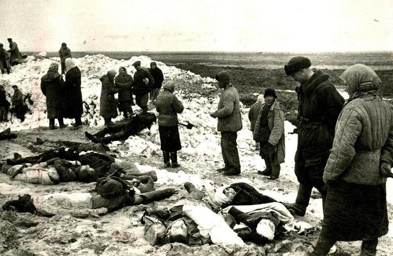зверства фашистов в Керчи, Багеровский ров