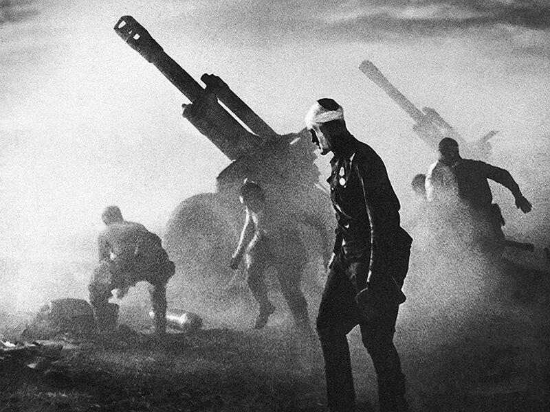 артиллерия Второй мировой, советская артиллерия
