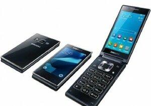 Samsung презентовал смартфон «раскладушку» G9198