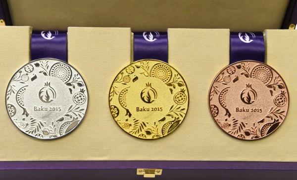 Стали известны премии украинских спортсменов за медали Баку