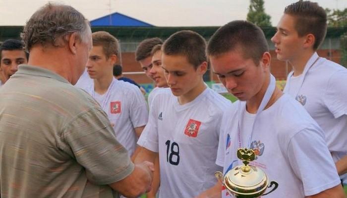 Сборная Москвы 1999 года рождения - серебряный призёр VII Летней Спартакиады учащихся России 2015.