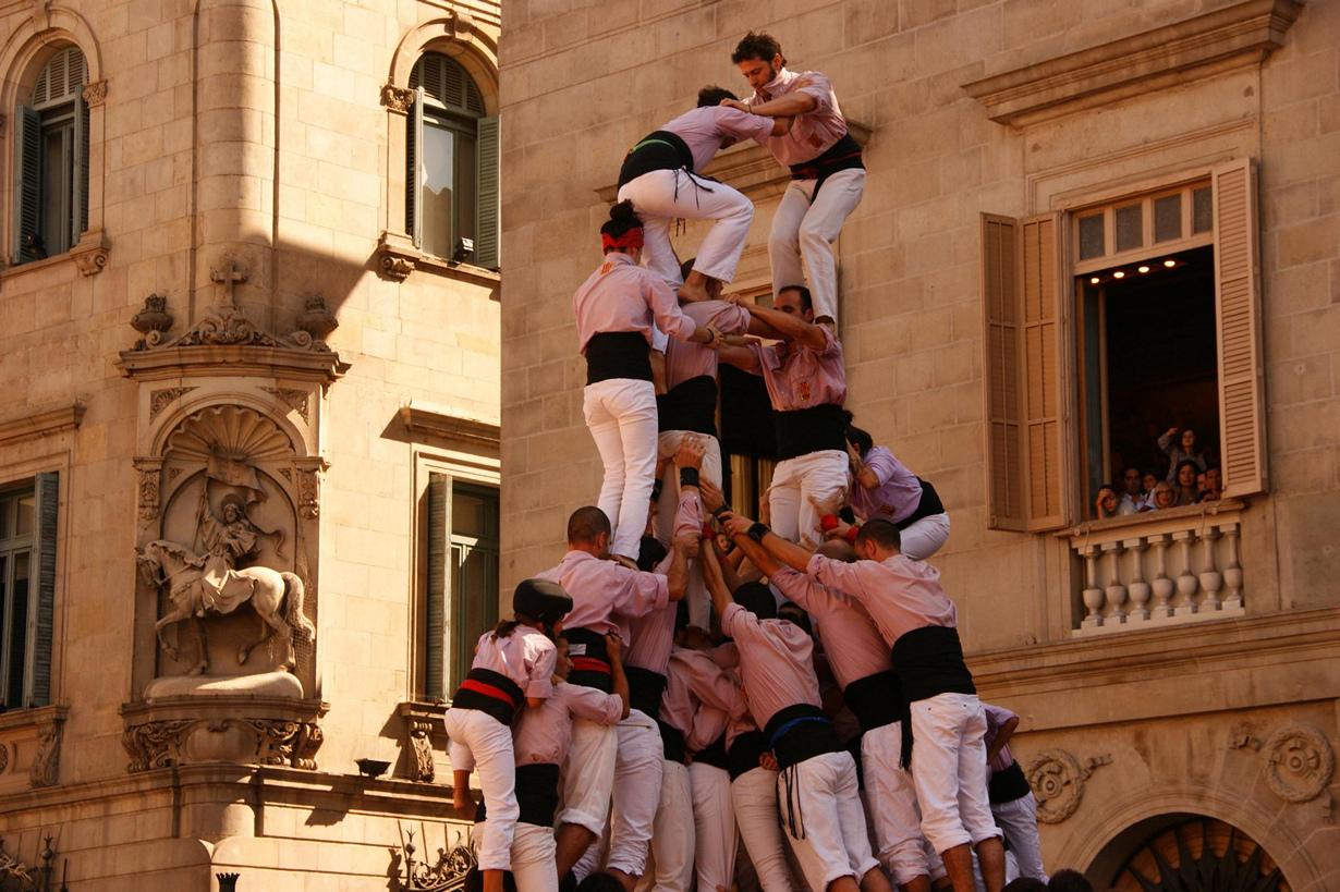 9 место. Фестиваль Ла Мерсе. В текущем году мероприятие проходит с 19 по 24 сентября. Действо устраи