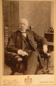 Гершау Александр Петрович (1825- ) - действительный тайный советник, генерал от артиллерии