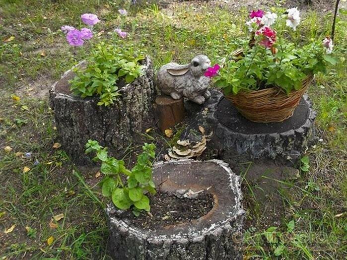 Поделки из корней для сада своими руками