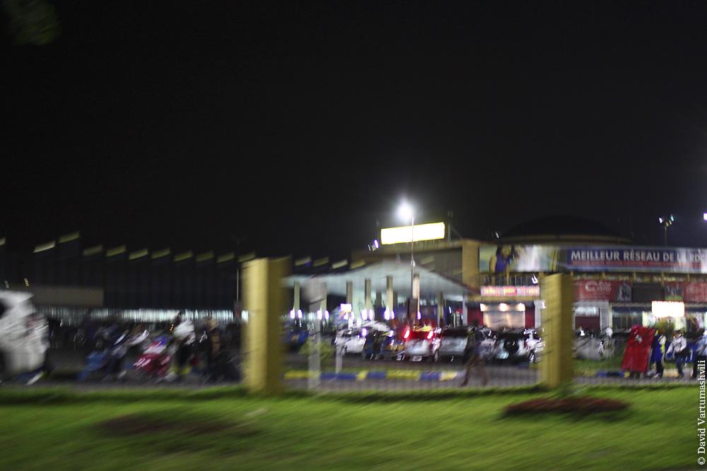 Конго ДР, перелет в Киншасу, аэропорт Нджили