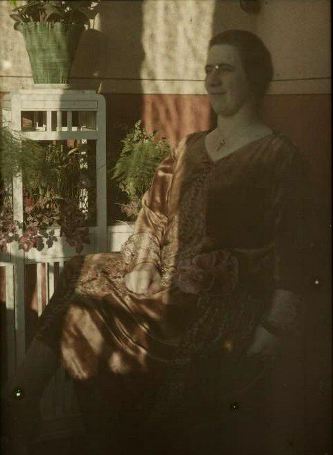 1910. Портрет Тины