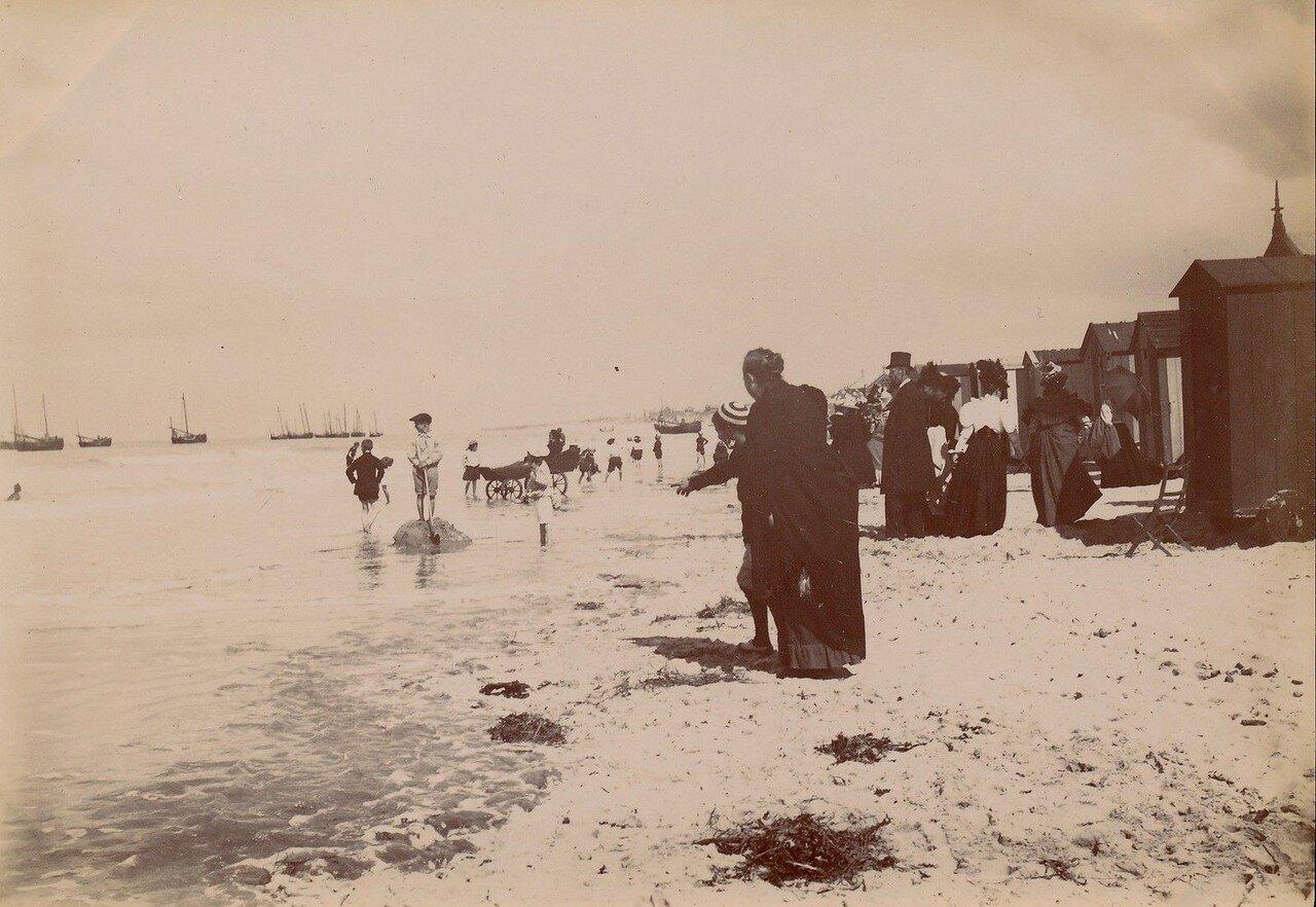 Булонь-сюр-Мер. Пляж