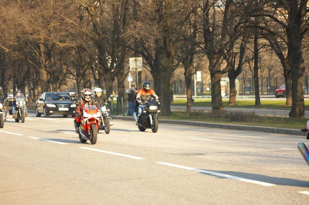 Открытие байкерского сезона 2009