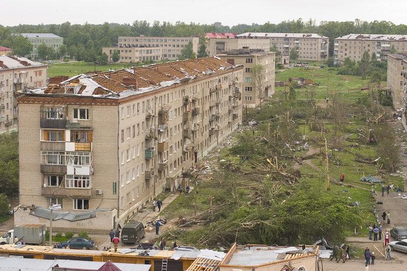 Ураган в Подмосковье