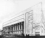 Схема перестройки здания Губернского земства