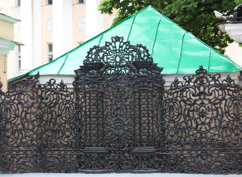 ажурные ворота для забора в нижнем новгороде
