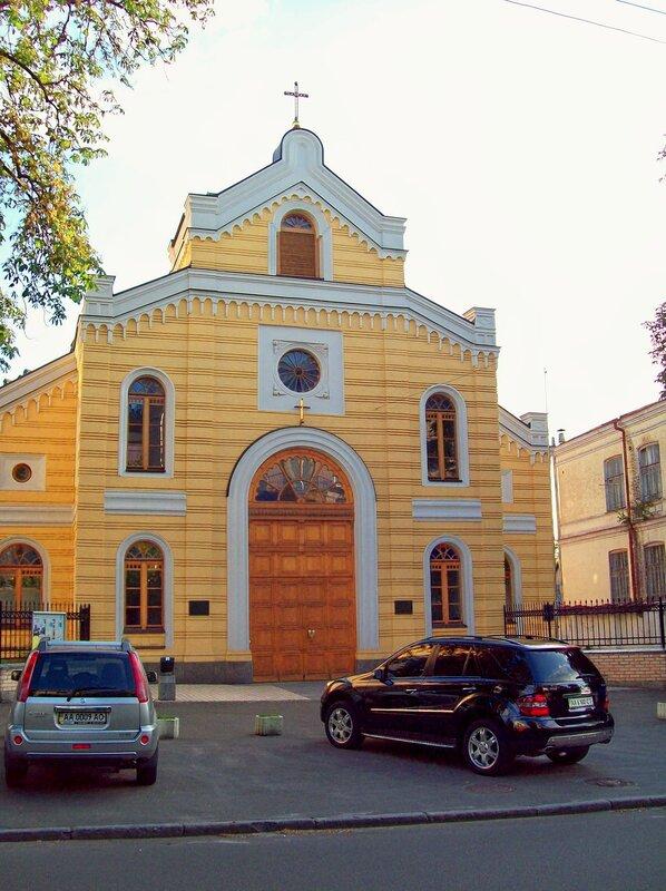 Церковь на Лютеранской