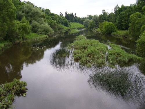 Верея. река Протва