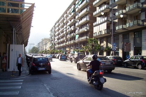 Shopping in Salerno, via Vittorio Emmanuele