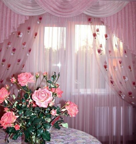 Модные фиолетовые шторы: 10+ красивых.