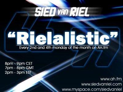 Sied van Riel - Rielalistic 012 (08-06-2009)