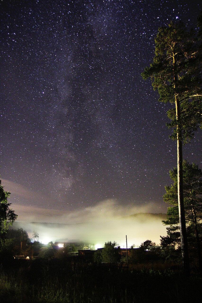 Млечный путь над Кусой