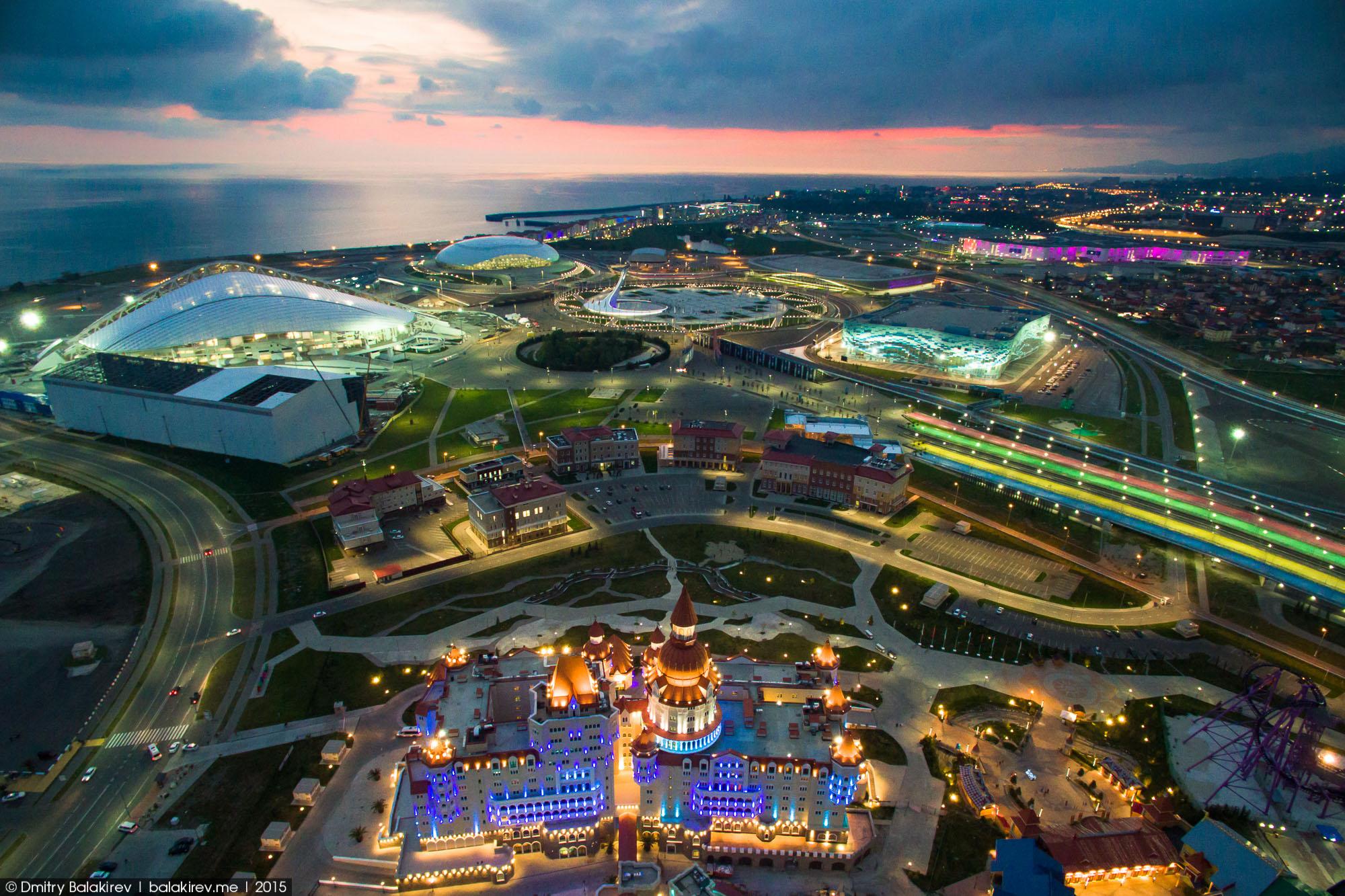 Олимпийский Сочи с высоты (с коптера) | Olimpic Sochi from drone