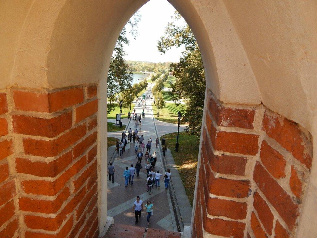 Сентябрь в Царицыно