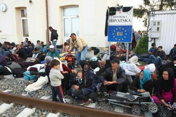 Хорватия, беженцы, миграция