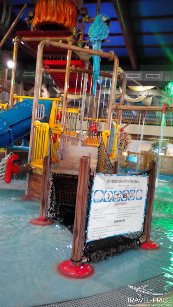 аквапарк Ривьера для детей