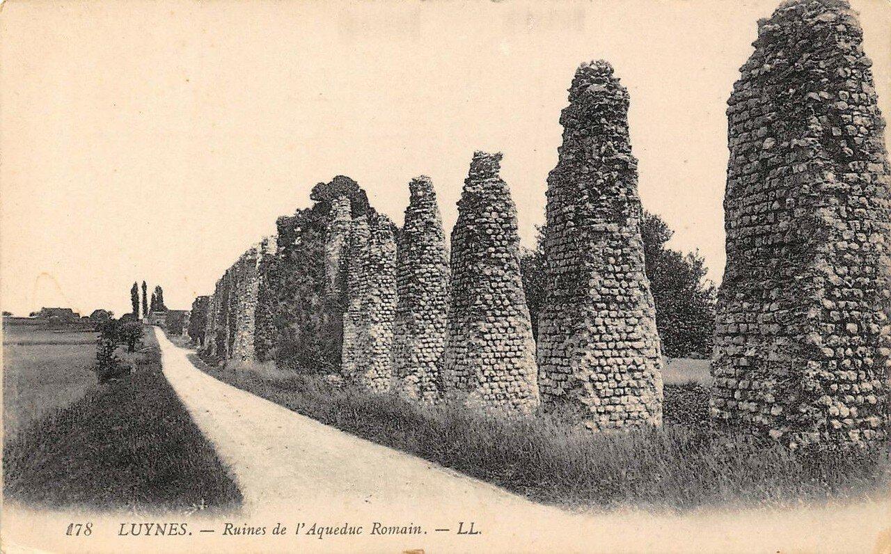 Люин. Останки Римского акведука