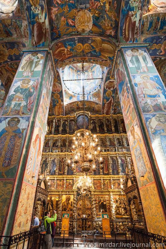 Церковь Илии Пророка. Ярославль. Золотое Кольцо.