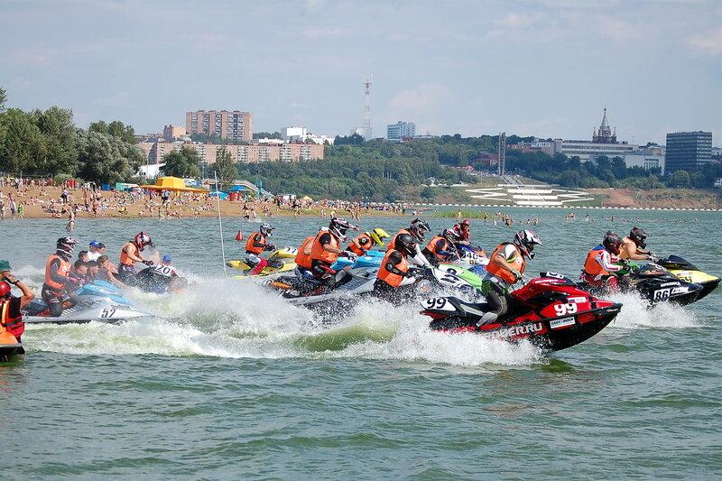 Третий этап Кубка России по аквабайку