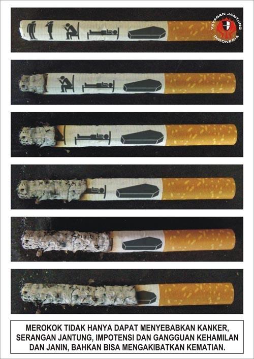 Креативныве постеры и плакаты о вреде курения