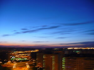 Небо над Москвой (Борисово)
