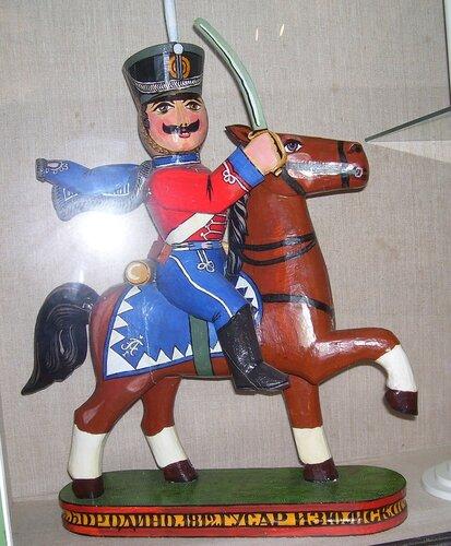 Бородино. 1812 г. Гусар Изюмского полка.