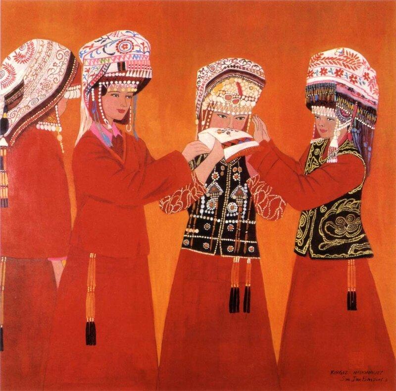 Национальность киргизы