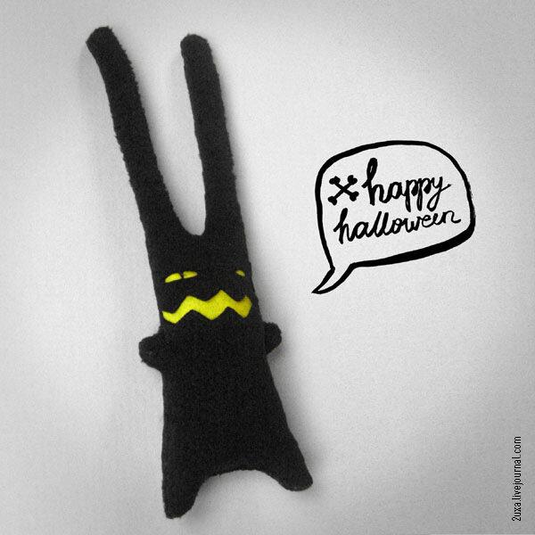 2uxa заяц для хэллоуина (halloween)