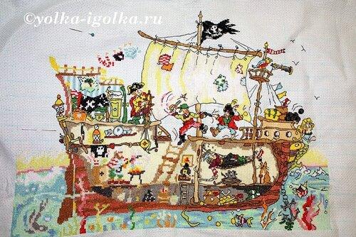 Пиратский корабль 21.05.09