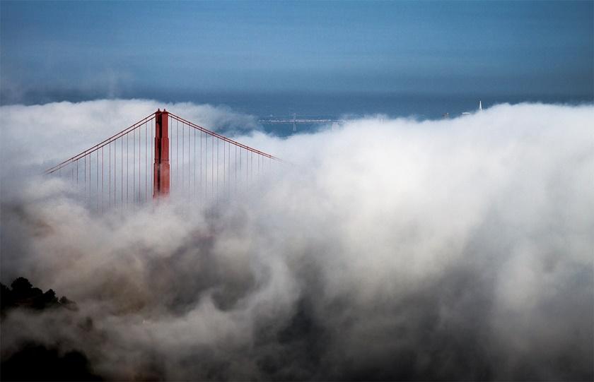 Красивые фотографии тумана в Сан Франциско, США 0 142277 d6ad318f orig