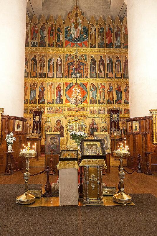 Песчанская икона Божией Песчанская икона Божией Матери в Федоровском Государевом Соборе