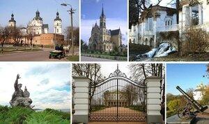 Бердичев, Фастов, Белая Церковь, Канев, Батурин, Чернигов