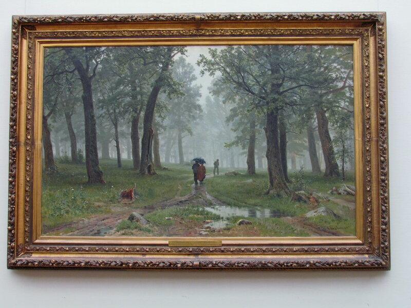 Шишкин И.И. Дождь в дубовом лесу. 1891.