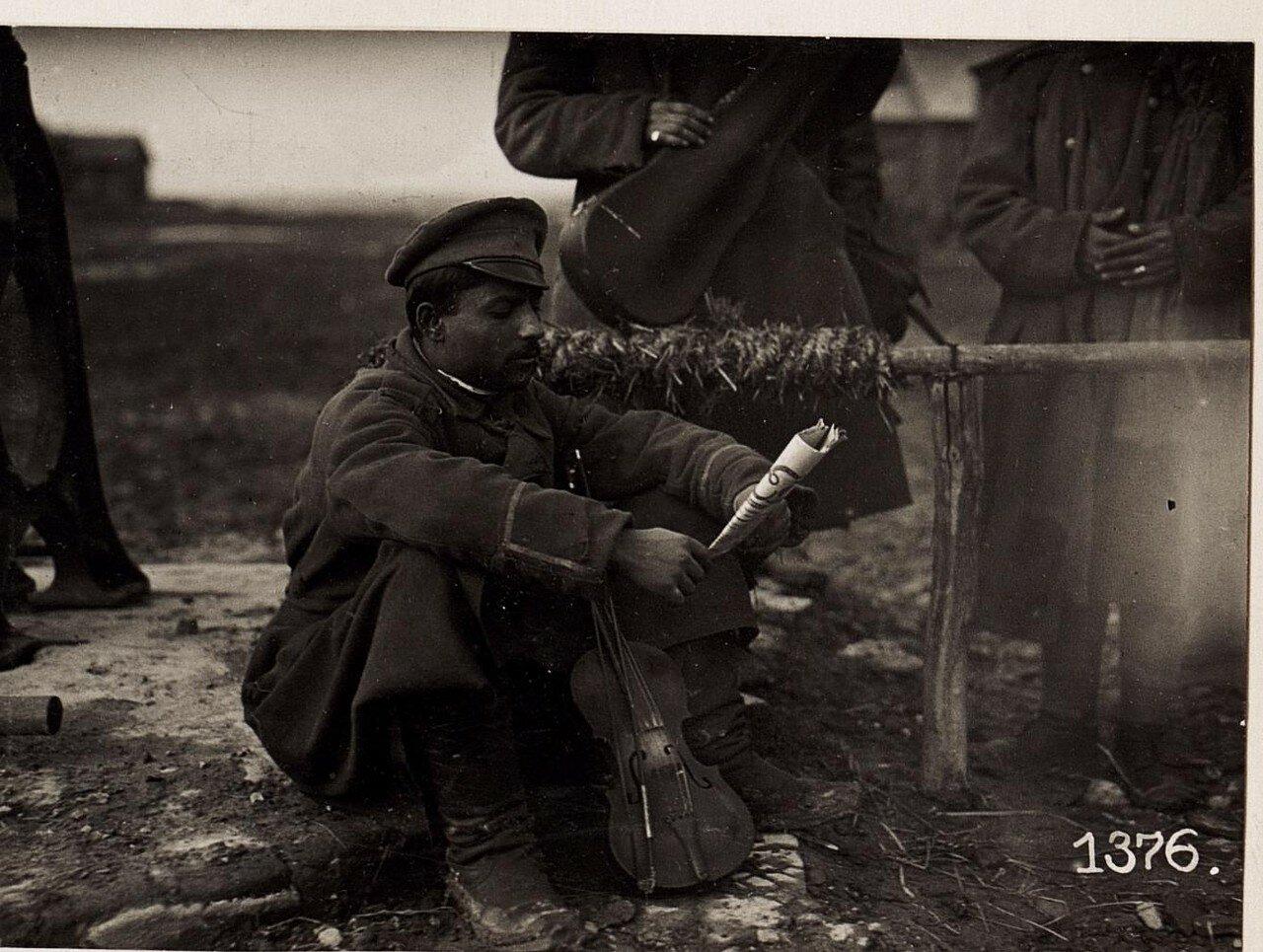 Вернувшийся из плена. (2/II.1918.)