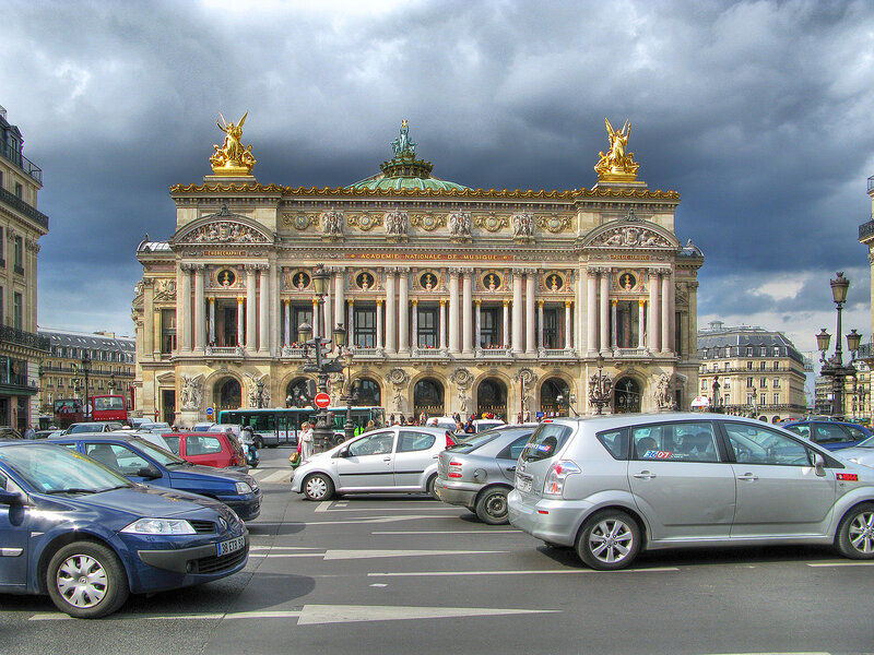 Величественный Гранд-Опера архитектора Шарля Гарнье